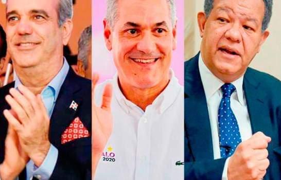 Encuesta Greenberg Diario Libre| Abinader 56%, Castillo 29%, Fernández 12%