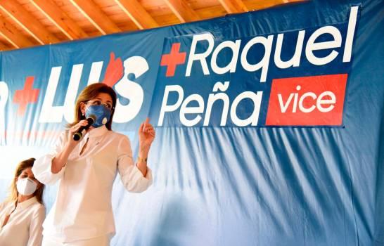 Vice de Abinader, Raquel Peña, reciben apoyo de empresarios de Santiago