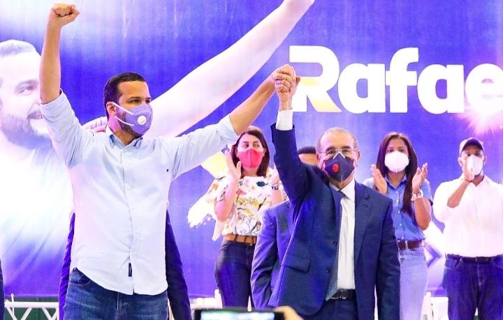 Danilo Medina afirma Rafael Paz será un lujo como senador del Distrito Nacional