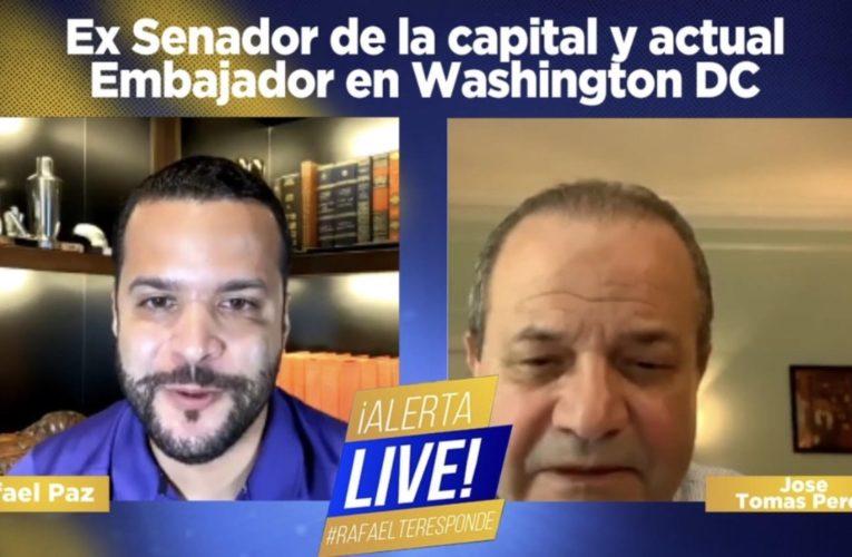 José Tomás Pérez valora y respalda a Rafael Paz como senador de la capital