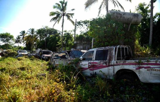 Edenorte paga RD$154 millones en alquiler de vehículos y tiene los suyos abandonados